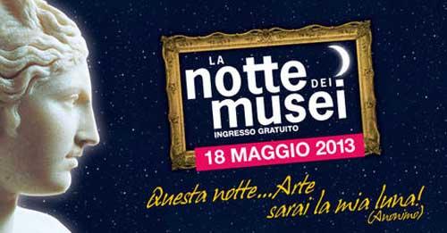 Il 18 maggio la Notte dei Musei