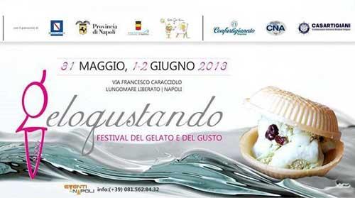 A Napoli dal 31 maggio il Festival del gelato e gusto