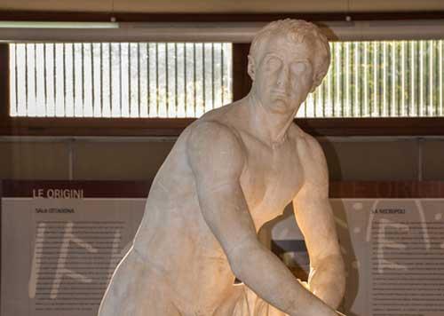 L'Atleta di Cassino: domani un convegno ne racconta la storia
