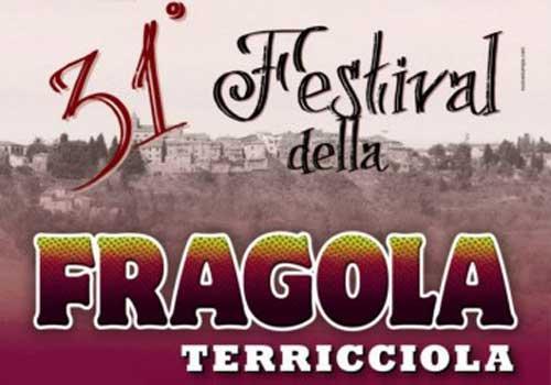 Dal 4 maggio il Festival della Fragola di Terricciola