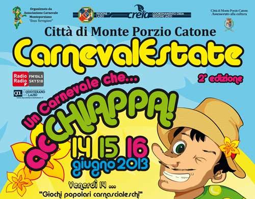 A Monte Porzio Catone il Carnevale si festeggia in estate