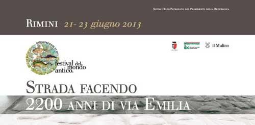 Rimini, dal 21 al 23 giugno il festival del mondo antico