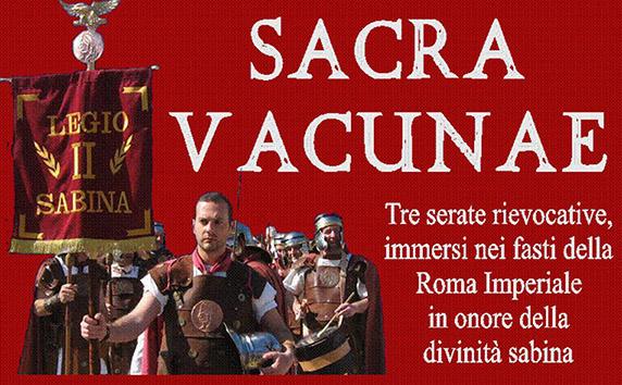 Rieti. A Vacone tornano i fasti della Roma Imperiale con la Sacra Vacunae.