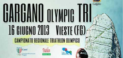 Vieste, il 16 giugno il Gargano Olympic Tri