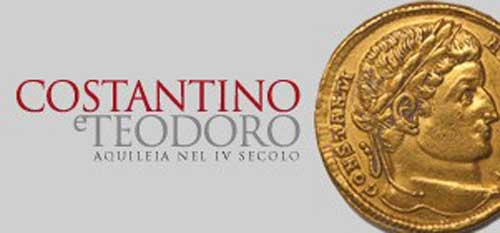 """Aquileia dal 5 luglio la mostra """"Costantino e Teodoro. Aquileia nel IV secolo"""""""