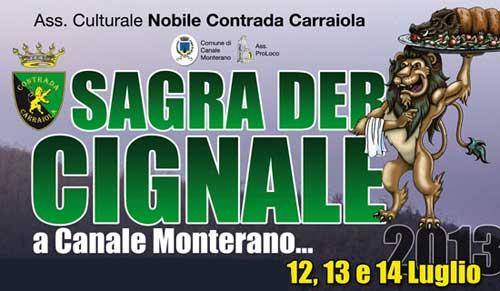 Canale Monterano, dal 12 luglio la Sagra del Cinghiale