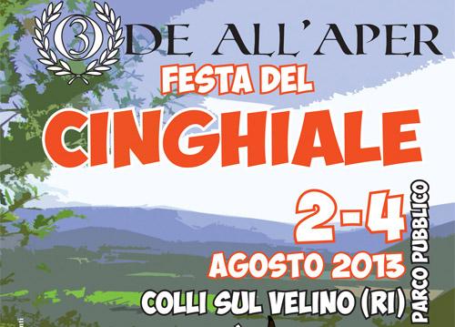 Colli sul Velino, dal 2 al 4 agosto l'Ode all'Aper