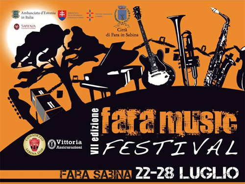Fara in Sabina dal 22 luglio il Fara Music Festival