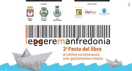 Manfredonia, dal 12 al 14 luglio la Festa del Libro