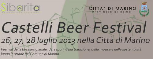 Castelli Beer Festival, dal 26 luglio a Marino