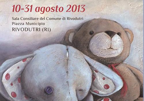 """Rivodutri, dal 10 agosto la mostra """"Il posto delle favole"""""""