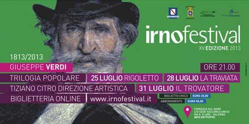 Salerno, l'Irnofestival dedicato a Giuseppe Verdi
