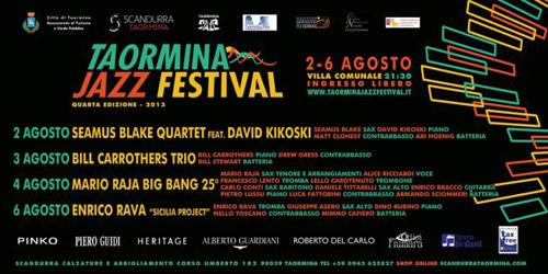 Dal 2 agosto il Taormina Jazz Festival