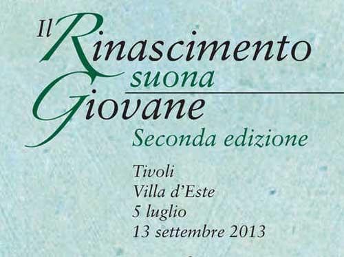 """A Villa D'Este fino al 13 settembre """"Il Rinascimento suona giovane"""""""
