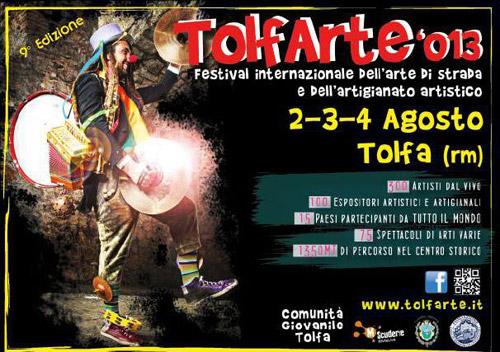Il 2, 3 e 4 agosto torna il TolfArte