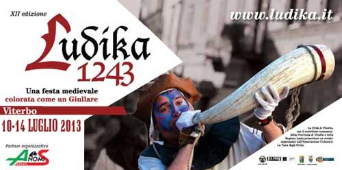 """A Viterbo torna l'appuntamento con il medioevo con """"Ludika 1243"""""""