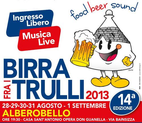Alberobello. Dal 28 agosto la Birra fra i Trulli