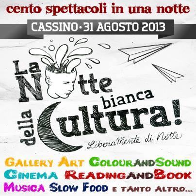 Cassino lancia la Notte Bianca della Cultura