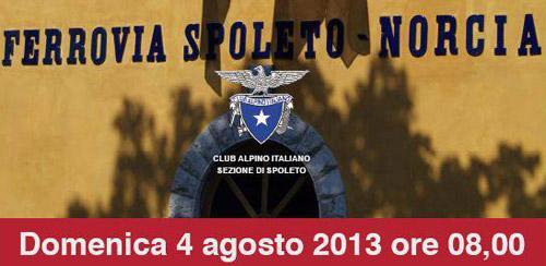 Spoleto-Norcia. Domenica appuntamento per gli amanti del trekking