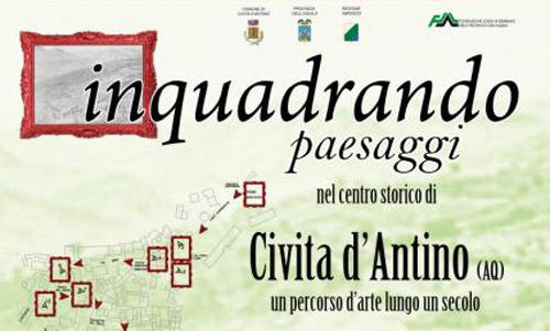 Abruzzo. Il 7 settembre percorsi d'arte a Civita D'Antino
