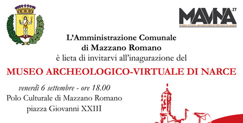 Mazzano Romano, il 6 settembre sarà inaugurato il Museo Archeologico