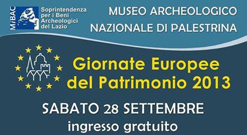 Palestrina, il 28 settembre visita gratuita al Museo Archeologico