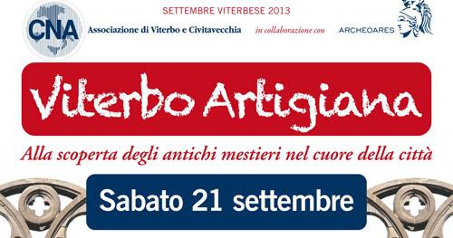 """Viterbo Artigiana"" sabato 21 settembre"