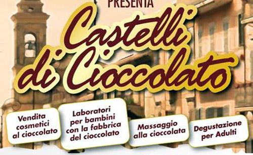 Marino, dall'11 al 13 ottobre Castelli di Cioccolato