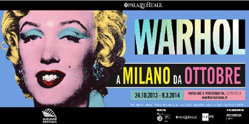 A Milano in mostra le opere di Warhol della collezione Brant