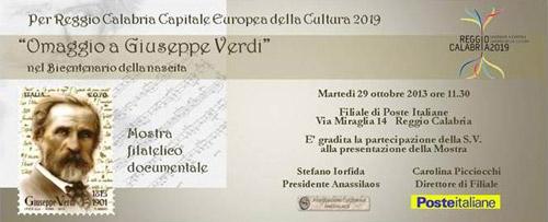 Reggio Calabria omaggia Giuseppe Verdi