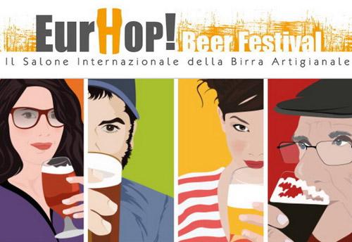 Roma. EurHop Beer Festival, il Salone Internazionale della Birra Artigianale