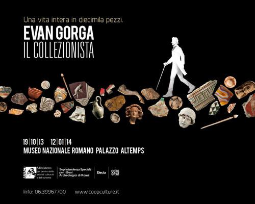 """Roma. Palazzo Altemps la mostra """"Evan Gorga, il collezionista. Una vita intera in diecimila pezzi"""""""
