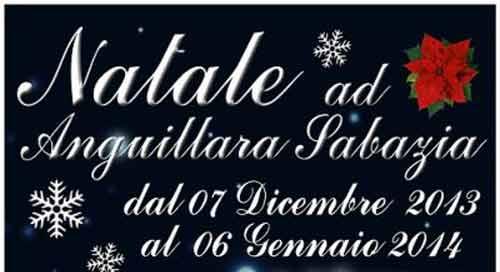 Natale ad Anguillara, tanti eventi fino al 6 gennaio 2014