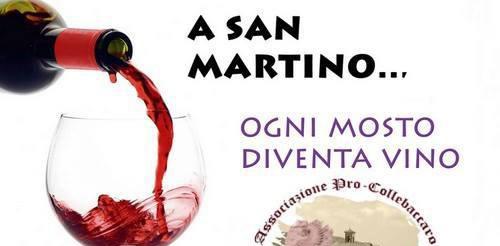 Rieti: Collebaccaro festeggia San Martino con la tradizionale Festa del Vino