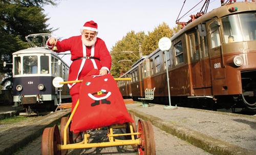 Ferrovia-Museo Stazione di Colonna: gli eventi di novembre e dicembre