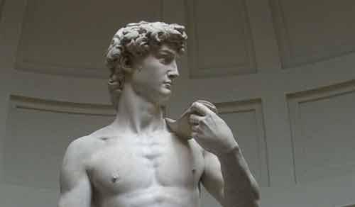 Il David di Michelangelo simbolo dell'Italia a Expo 2015