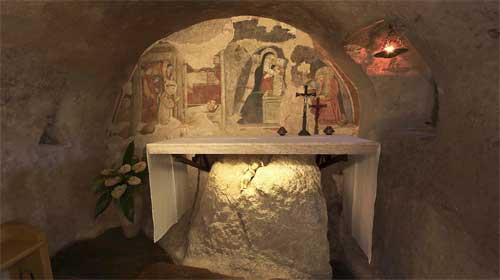 A Greccio si rinnova la tradizione del presepe più antico