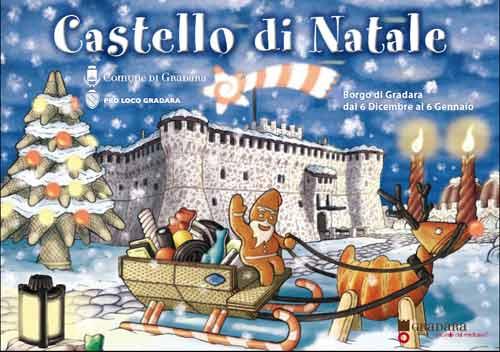 Marche. Castello di Natale a Gradara