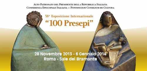"Roma, dal 28 novembre ""100 Presepi"" in mostra"