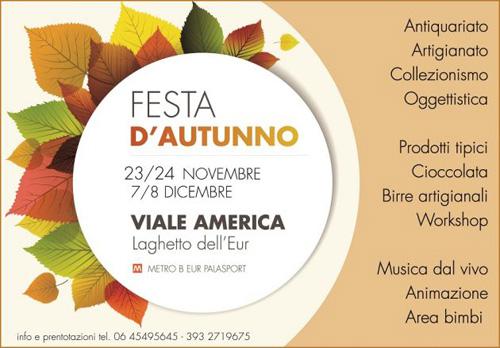 Roma festeggia l'autunno