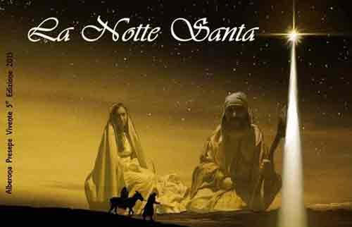"Presepe. Ad Alberona rivive la ""Notte Santa"""