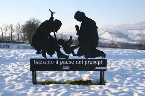 Emilia Romagna. Bazzano, il Paese dei Presepi