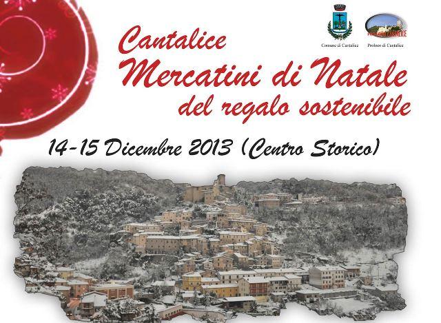 Aria di feste in Sabina con i Mercatini di Natale di Cantalice