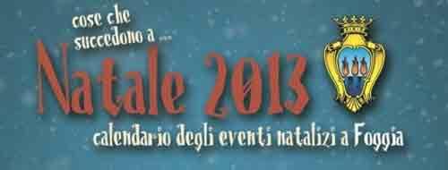 Aria di Natale 2013 a Foggia