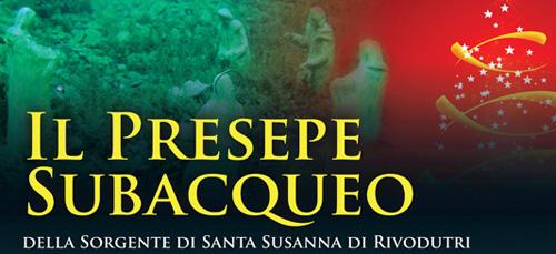 Rieti: il 14 dicembre si inaugura il Presepe Subacqueo di Rivodutri