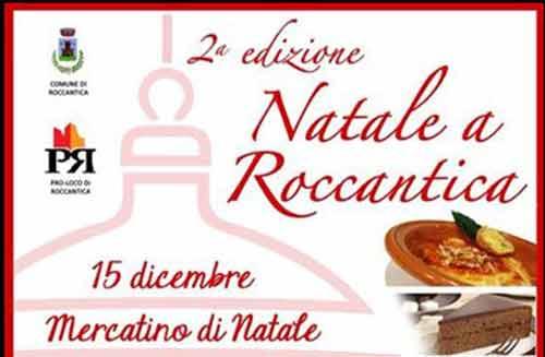 Natale in Sabina: mercatino e prodotti tipici a Roccantica