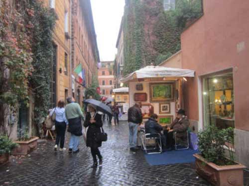 Roma. Natale a via Margutta: cento artisti in mostra