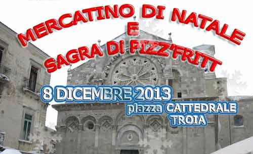 Domenica 8 dicembre il Mercatino di Natale a Troia