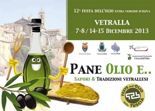 """Tuscia. A Vetralla la """"Festa dell'Olio Nuovo"""""""