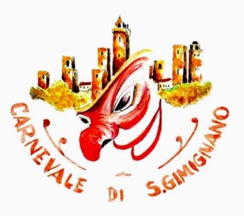 Il logo del Carnevale di San Gimignano